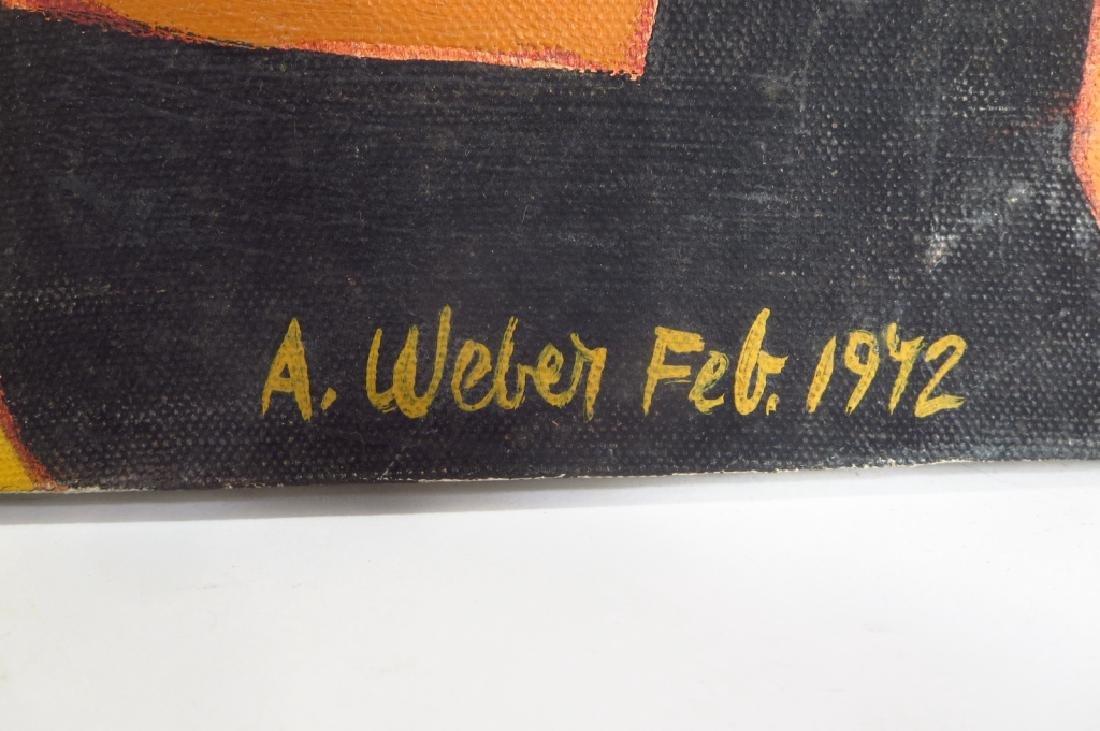 Arnold Weber, Am., 1931-2010, Orange with Females - 3