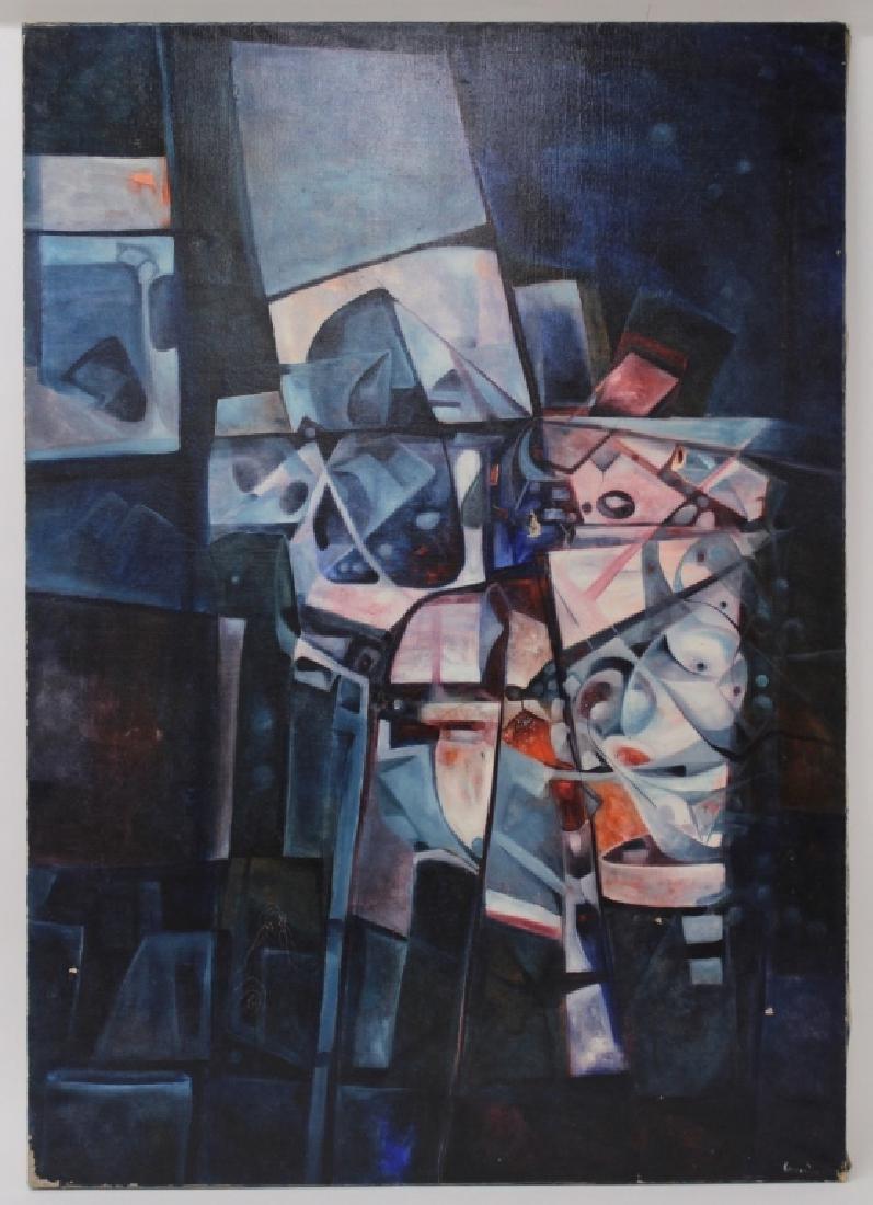 Manuel Coronado, 20th C., Abstract Shapes, O/C - 2