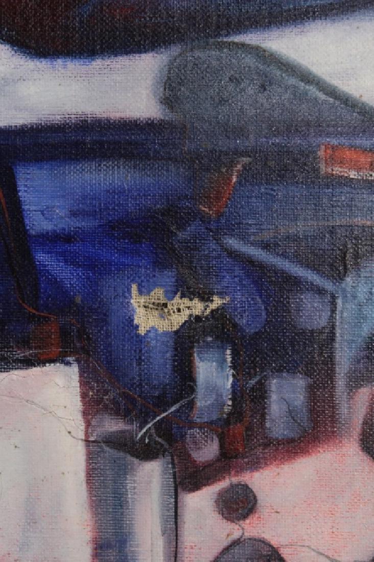 Manuel Coronado, 20th C., Abstract Shapes, O/C - 4