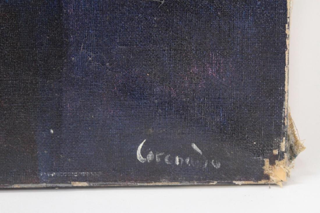 Manuel Coronado, 20th C., Abstract Shapes, O/C - 6