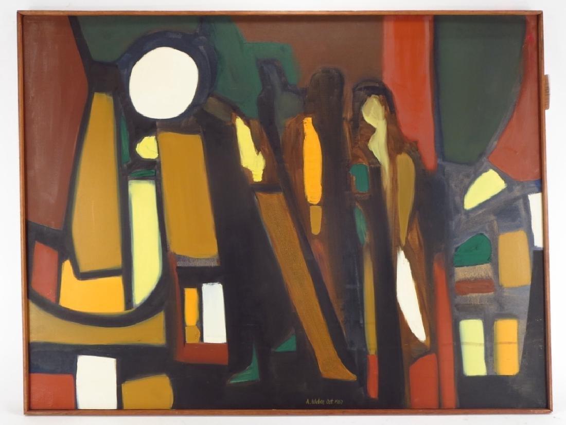 Arnold Weber, Am., 1931-2010, White Orb - 2