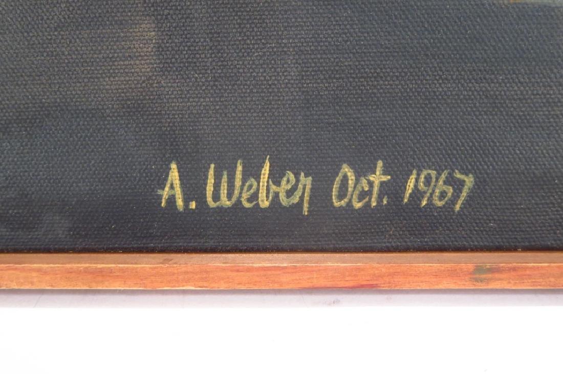 Arnold Weber, Am., 1931-2010, White Orb - 3
