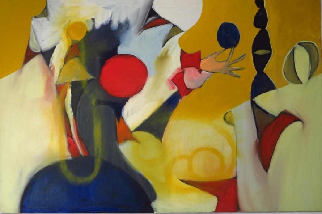 Arnold Weber, Am.,1931-2010, Hand Holding Ball