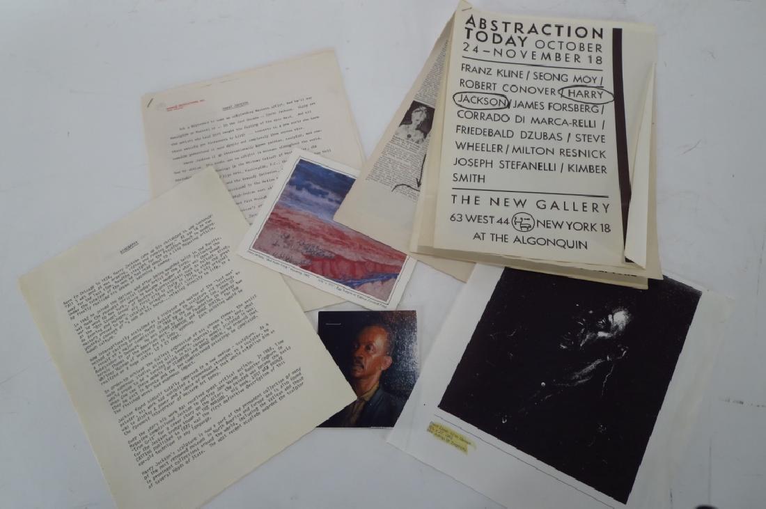 Harry Jackson, 1924-2011, Sketch of 5 Musicians