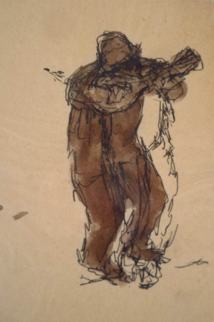 Harry Jackson, 1924-2011, Sketch of 5 Musicians - 2