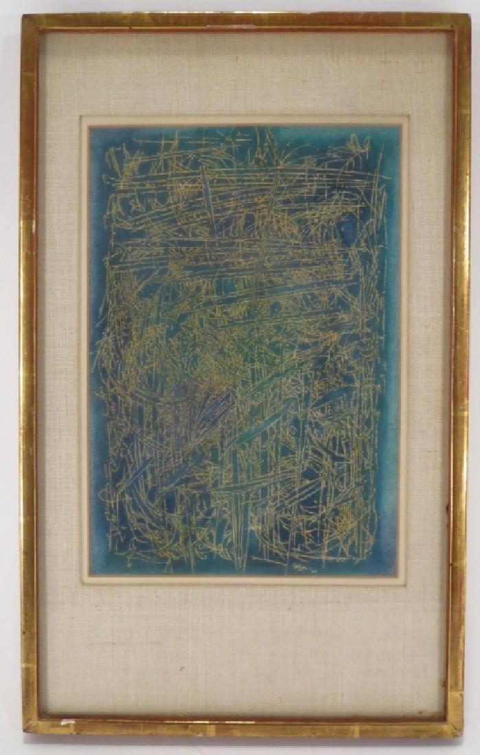 C. Seliger, Wild Grass, Ink on Paper, 1960 - 2