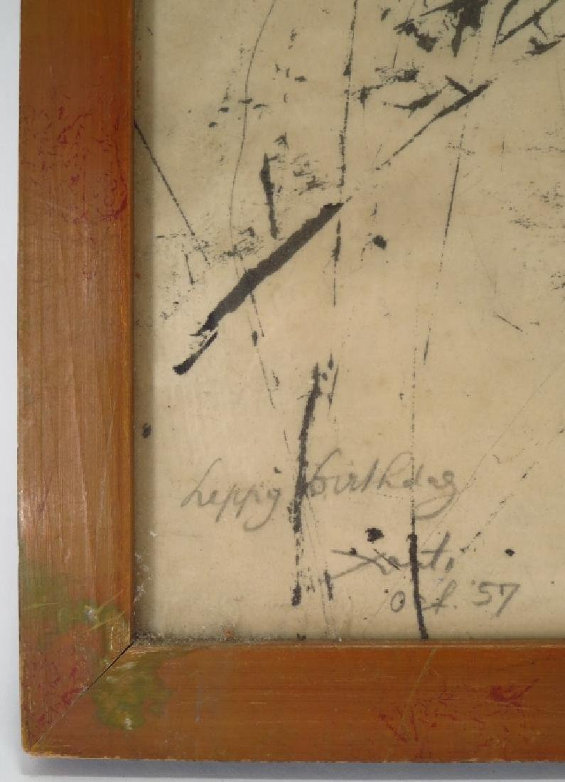 Alex (Xanti) Schawinsky b.1904 Abstract Ink/Paper - 4