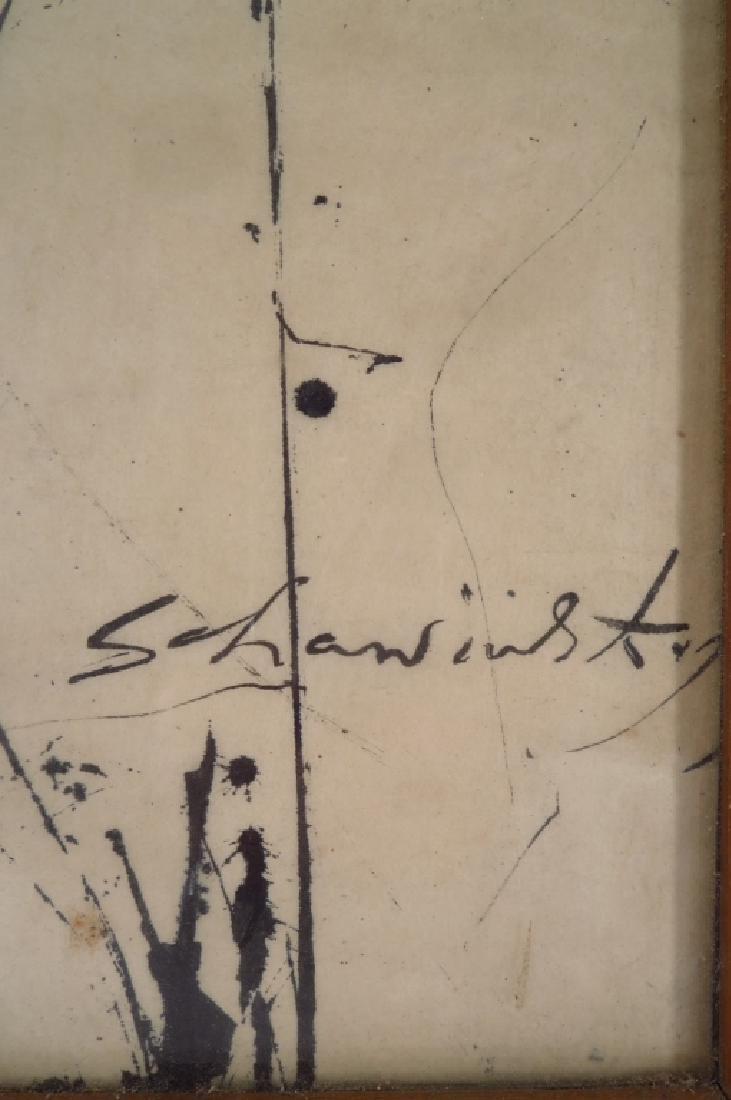 Alex (Xanti) Schawinsky b.1904 Abstract Ink/Paper - 5