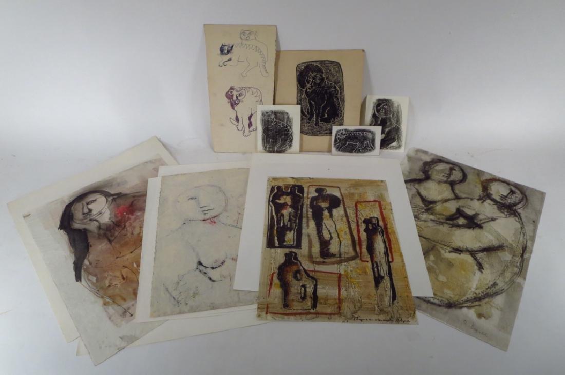 Oreste Dequel, 1923-1989, 8 Art Works