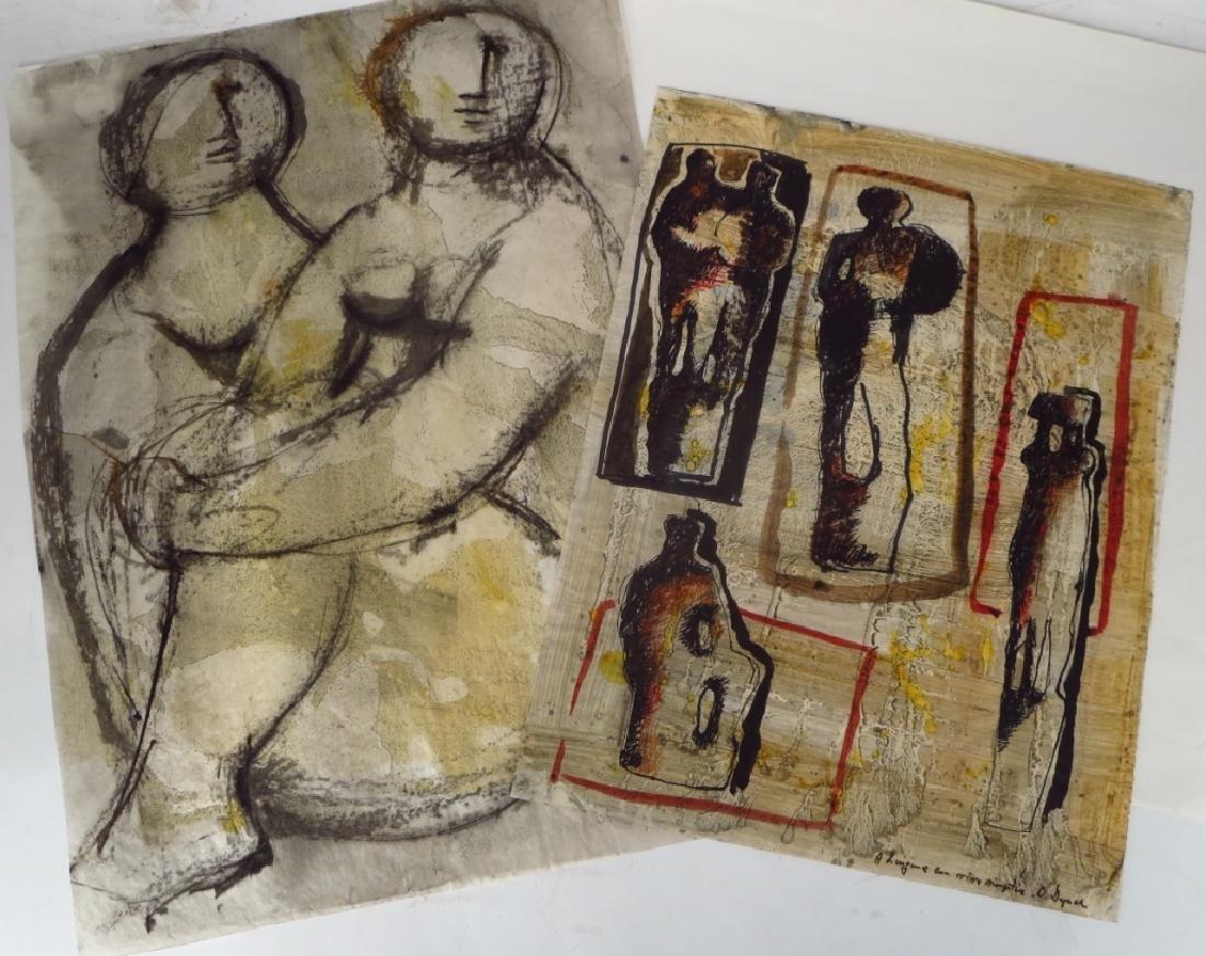 Oreste Dequel, 1923-1989, 8 Art Works - 3