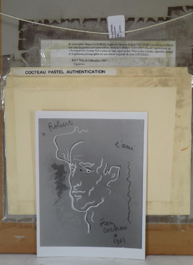Jean Cocteau FR 1889-1963 A L'Ami Robert Pastel - 5