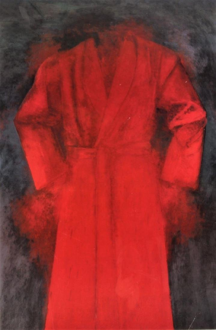 Jim Dine AM b.1935 Exhibition Poster Cardinal 1985