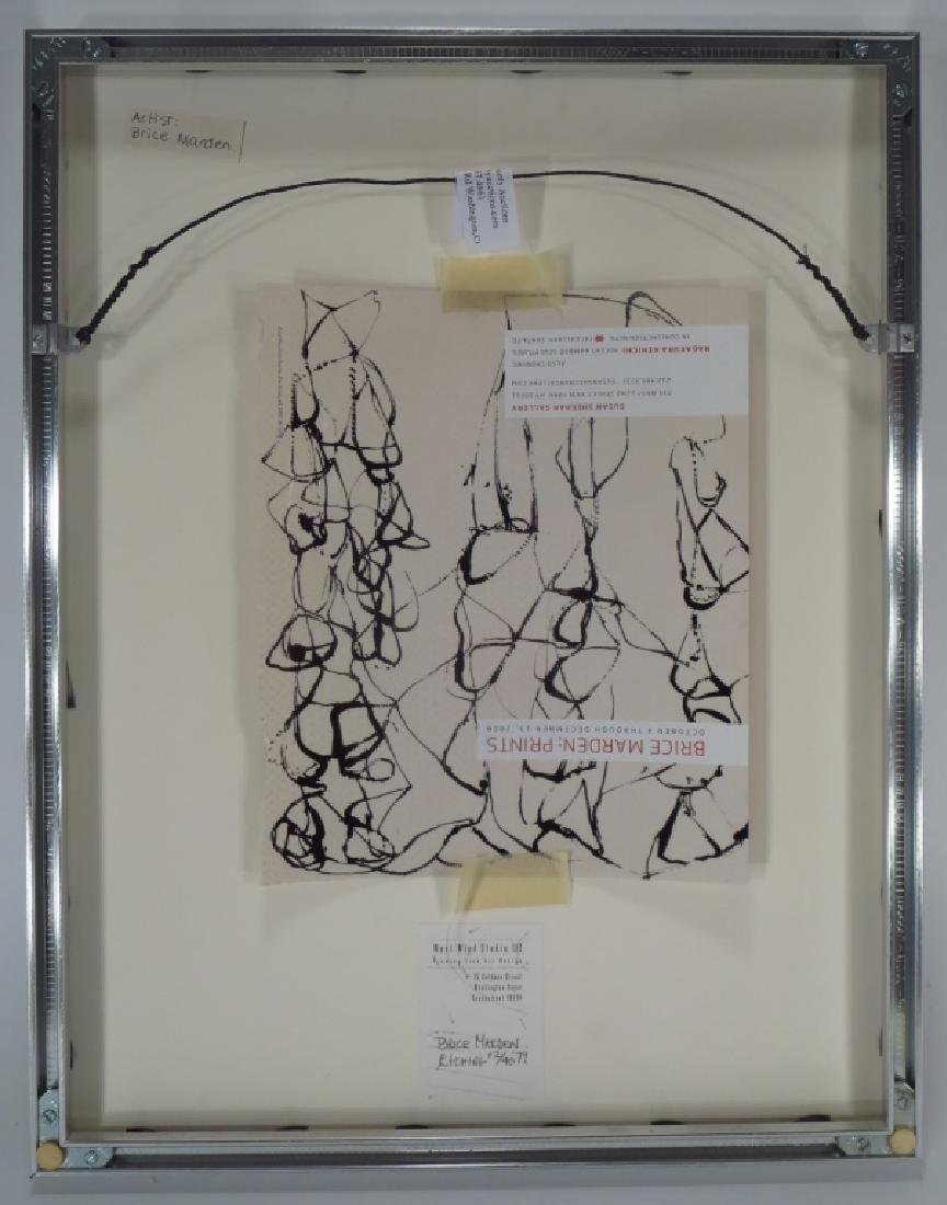 Brice Marden,Am.,Untitled,etching - 4