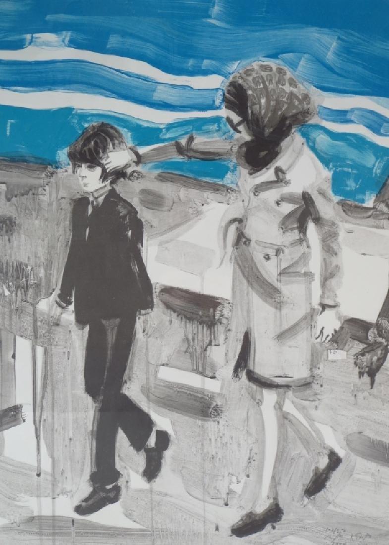 Elizabeth Peyton Am b.1965 Jackie & John Litho 2000
