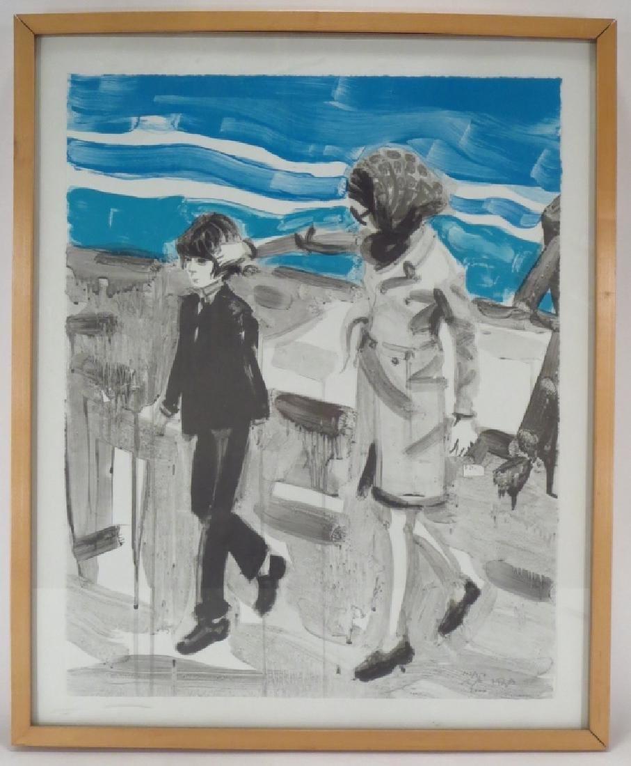 Elizabeth Peyton Am b.1965 Jackie & John Litho 2000 - 2
