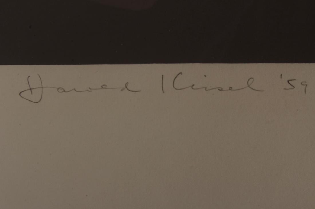 """Harold Krisel,Am.,""""Summer-4"""",serigraph,signed - 4"""