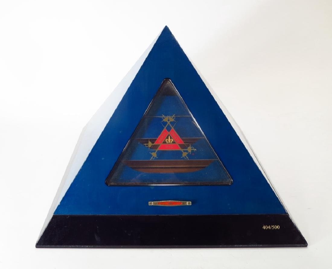 Humidor Pyramid Monte Cristo Limited Edition
