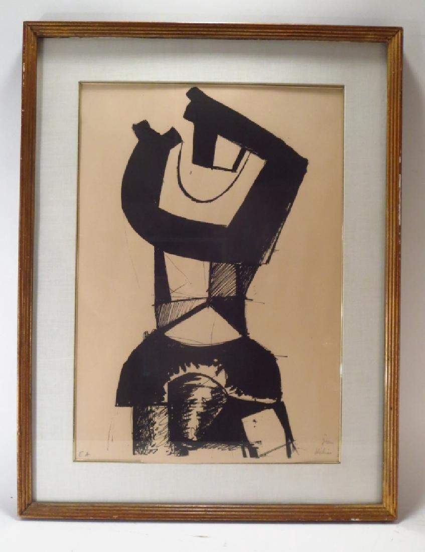 """Jean Helion, Fr.,1904-1987,""""Figure Dressée""""  Litho - 2"""