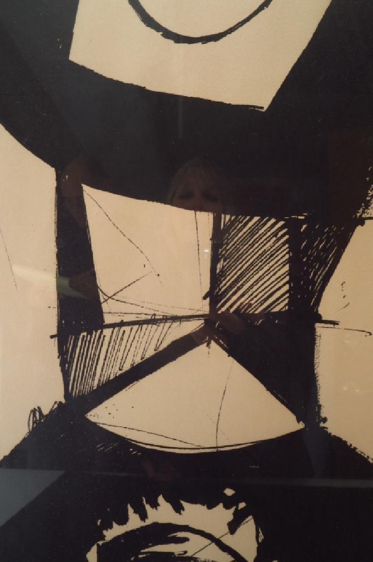 """Jean Helion, Fr.,1904-1987,""""Figure Dressée""""  Litho - 4"""