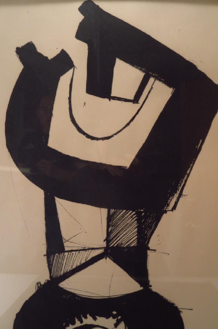 """Jean Helion, Fr.,1904-1987,""""Figure Dressée""""  Litho - 5"""