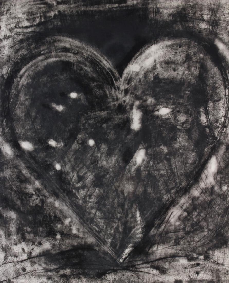 Jim Dine AM b.1935 Heart Etching 1981