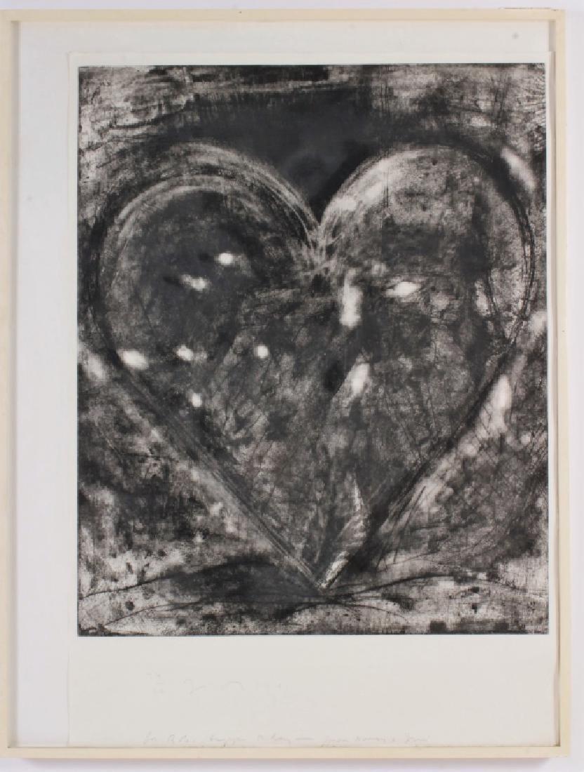 Jim Dine AM b.1935 Heart Etching 1981 - 2