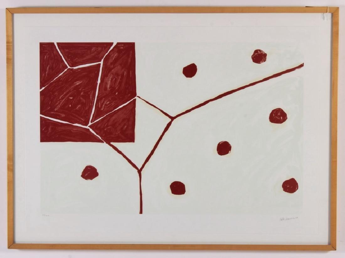 """Mary Heilmann, Am., b 1940, """"Earth & Air"""", Litho - 2"""