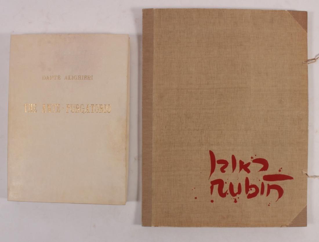 2 Folios,Reuven Rubin and Jack Zajac c. 1964