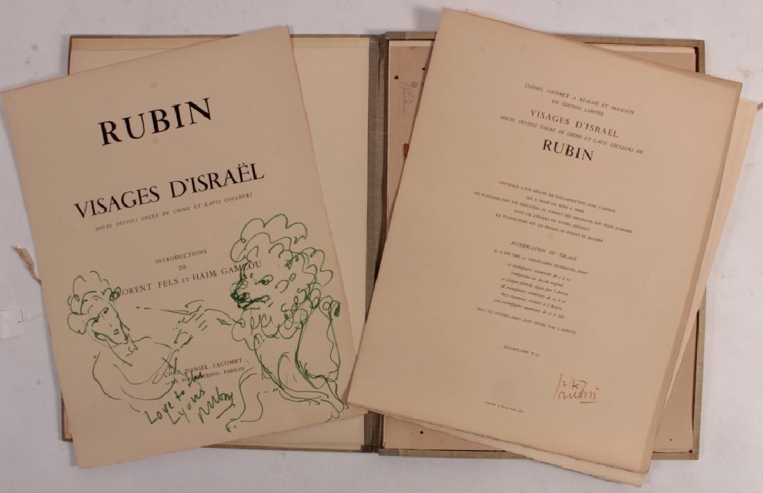 2 Folios,Reuven Rubin and Jack Zajac c. 1964 - 2