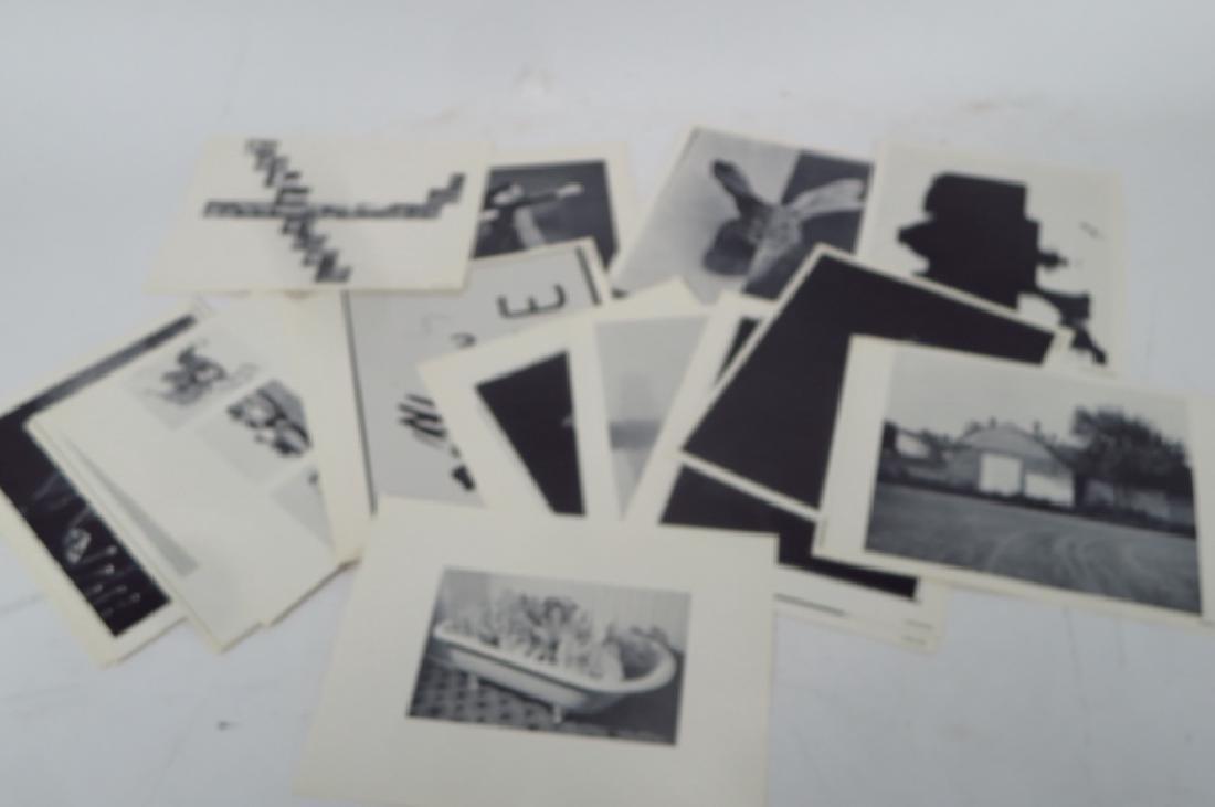 Lot of 4 Box of Artists' Photos & 3 Ephemera Pubs - 2