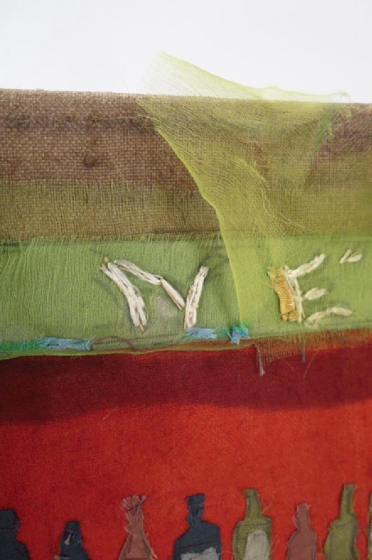 """Beldy Fabric Collage """"Le Neant"""", Sailors 20th c. - 4"""