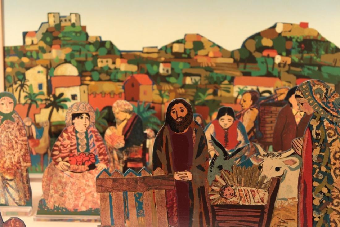Francesco Tabusso, 20th C., Nativity Scene - 2