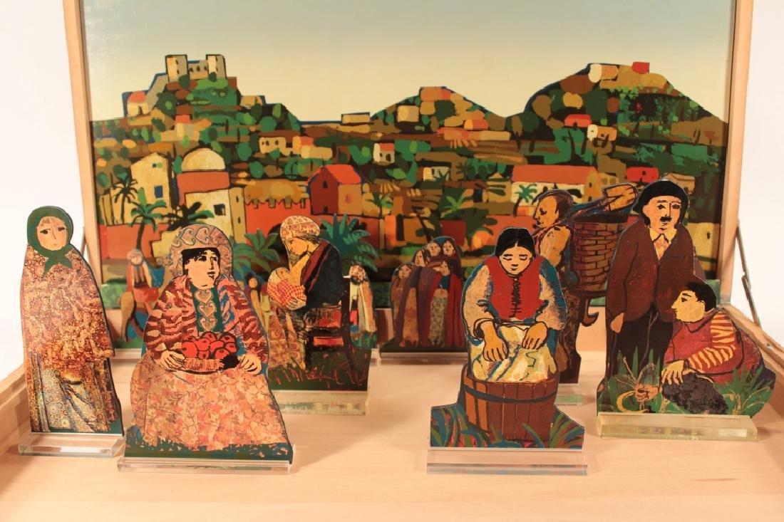Francesco Tabusso, 20th C., Nativity Scene - 4