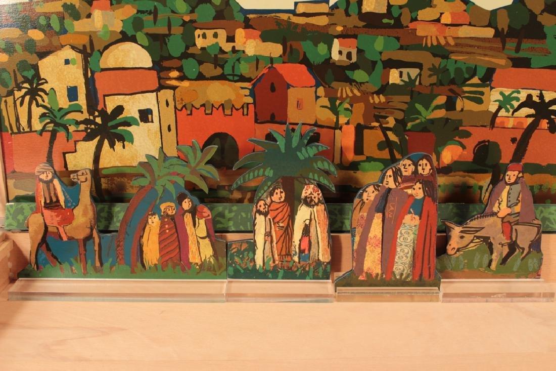 Francesco Tabusso, 20th C., Nativity Scene - 5