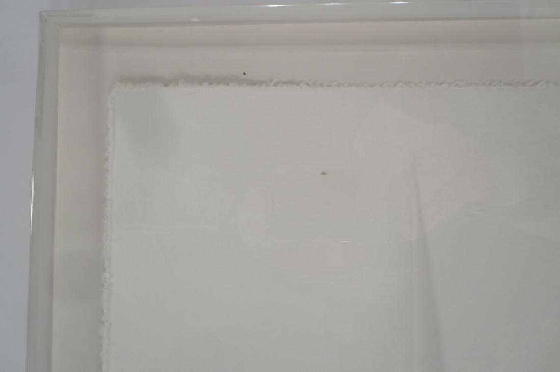 Louis Lieberman,20th C.,Horizon Line,paper relief - 3