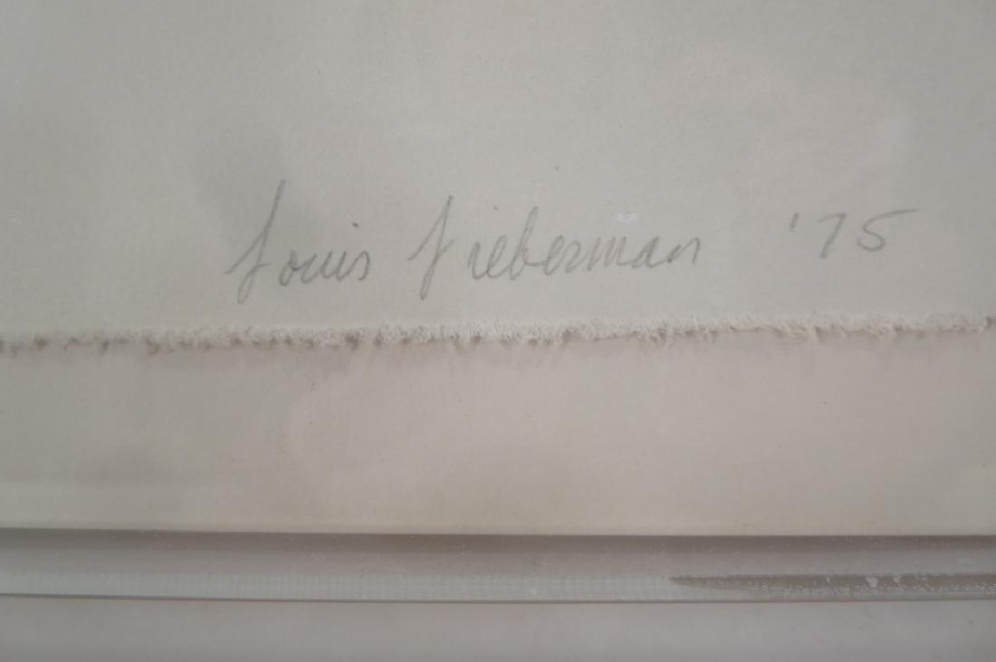 Louis Lieberman,20th C.,Horizon Line,paper relief - 4