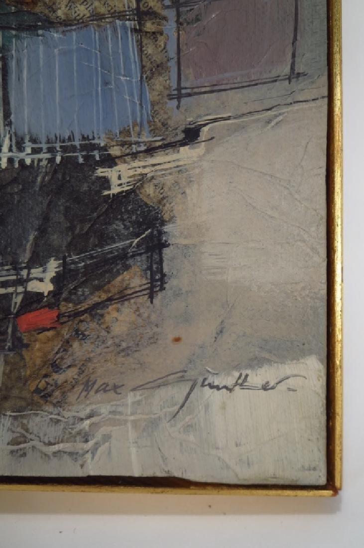 Max Gunther, Swiss, 1934-1974, Cityscape, O/C - 4