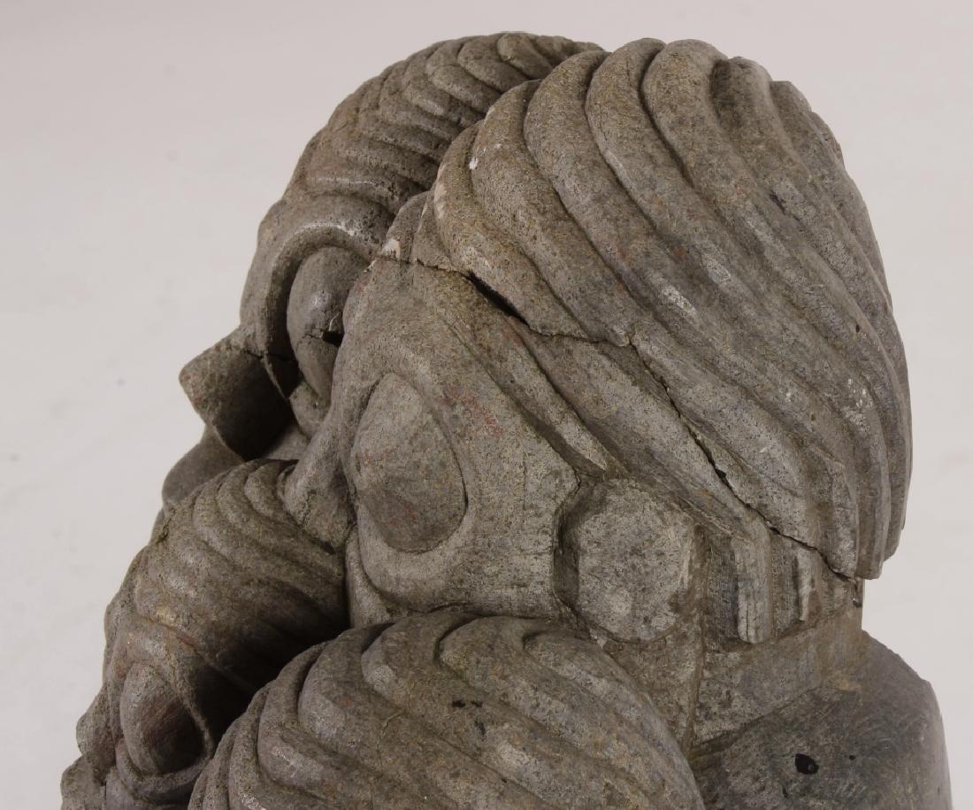 "Shona Tribe Stone Sculpture, Zimbabwe, ""Lovers"". - 4"