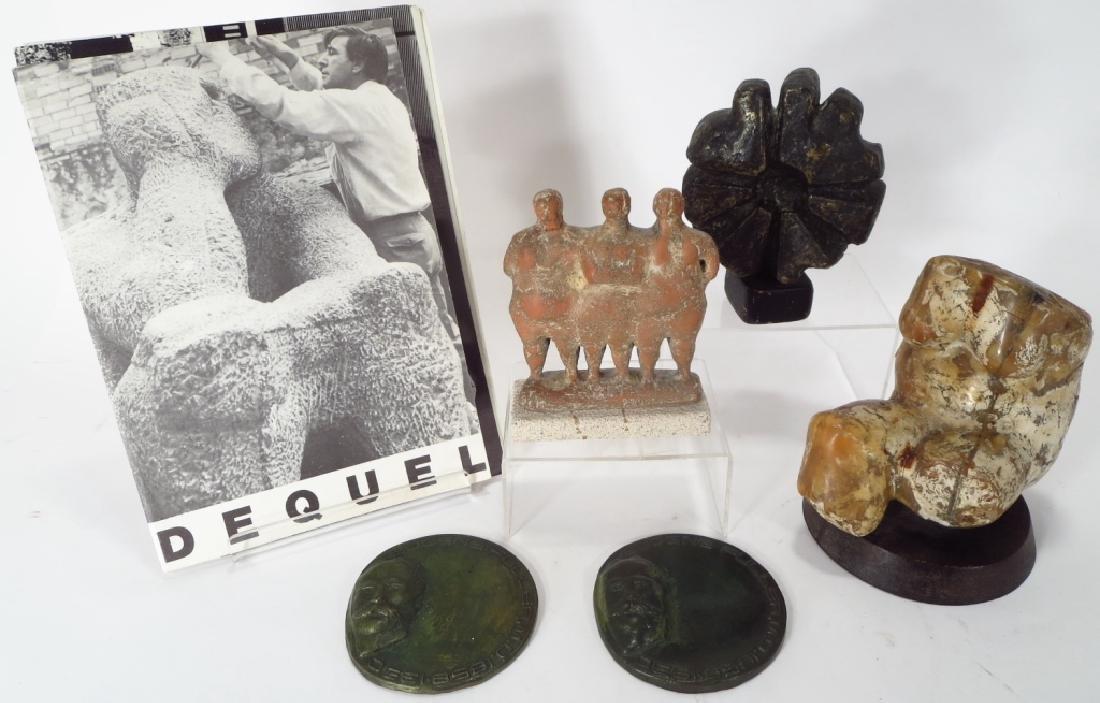 Oreste Dequel, 1923-1989, 5 Sculpture Works
