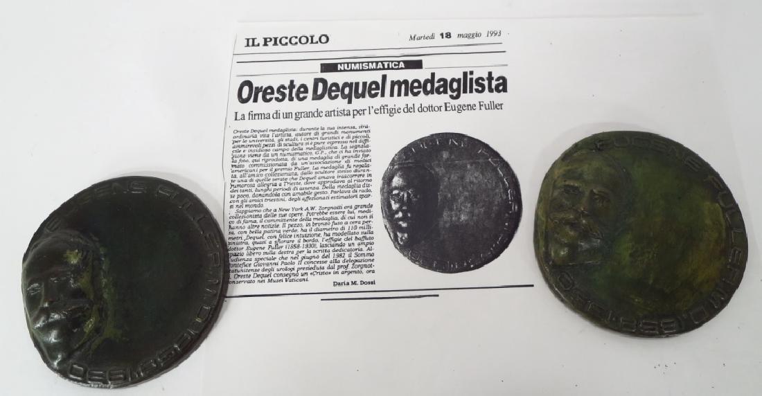 Oreste Dequel, 1923-1989, 5 Sculpture Works - 3