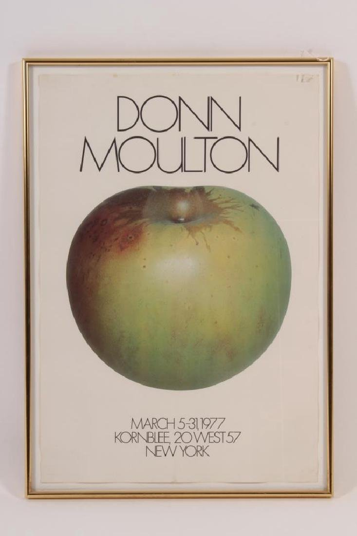 Donn Moulton,Am.,Green Apple,1972, lacquered f/g