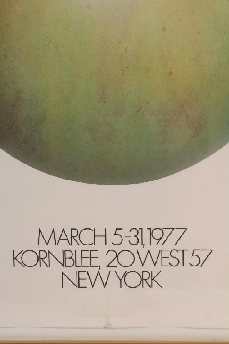 Donn Moulton,Am.,Green Apple,1972, lacquered f/g - 2