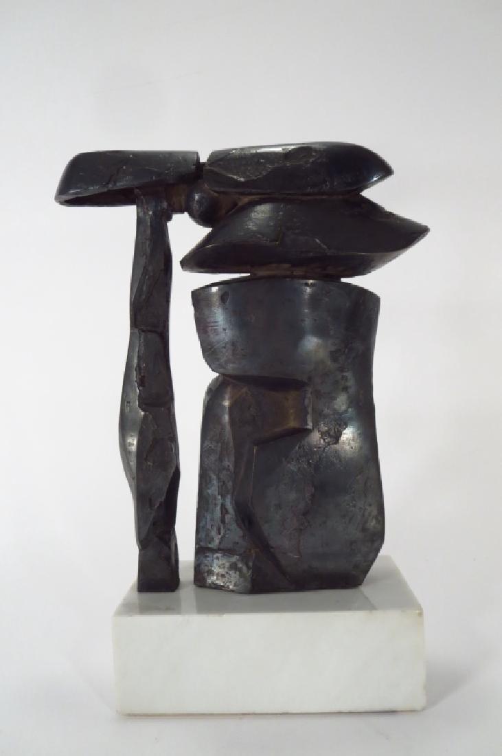 Dimitri Hadzi,Am.,Samurai,bronze,signed