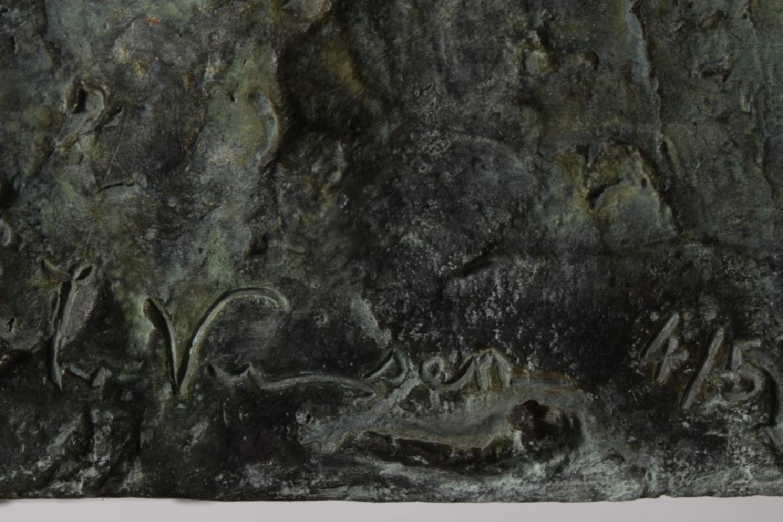 Yuri Kuper BR b.1940 Chevelet (Easel) Bronze - 5