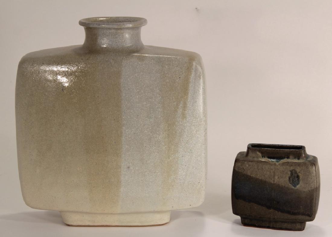 2 Pierre Culot Ceramic Vases,marked