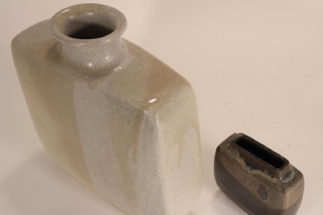 2 Pierre Culot Ceramic Vases,marked - 2
