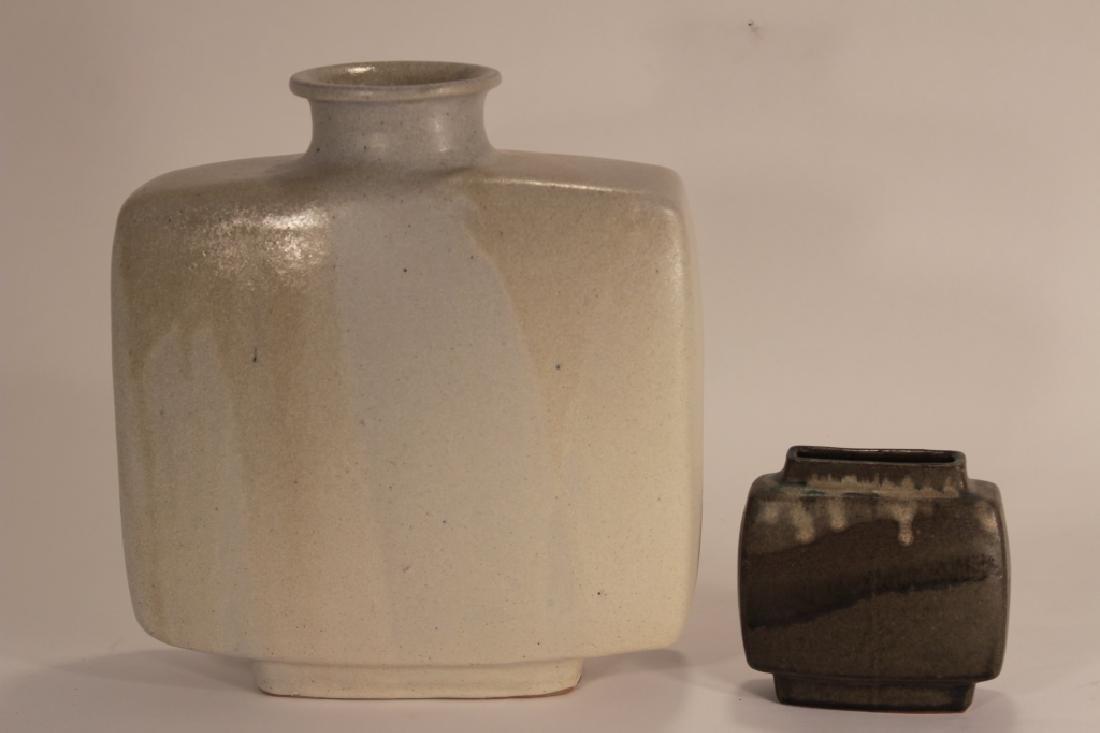 2 Pierre Culot Ceramic Vases,marked - 3
