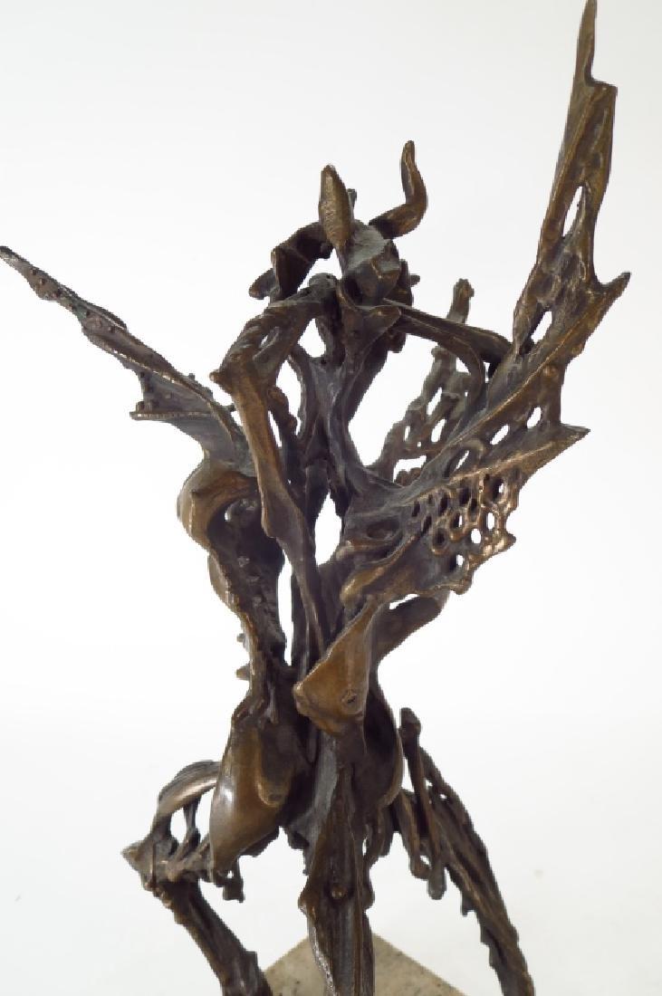 Robert Howard Cook, Dante Inferno, Bronze - 3