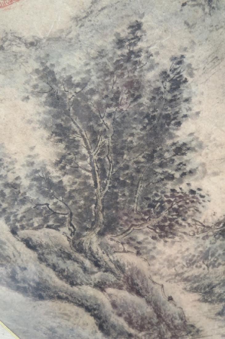 An Chung-sik,Korean,Landscape,artists seal - 3
