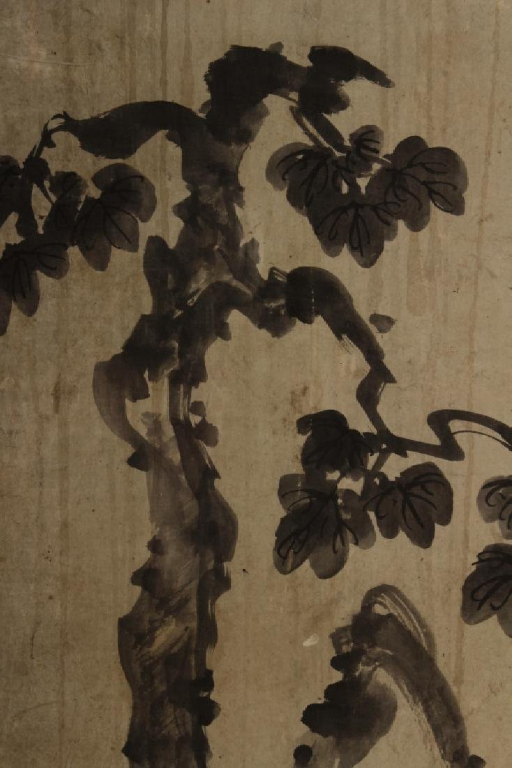 Hur So Chi,Kor.,Korean Hanging Scroll, 19th C. - 3